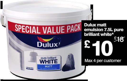 Prices Dulux Paint B Q
