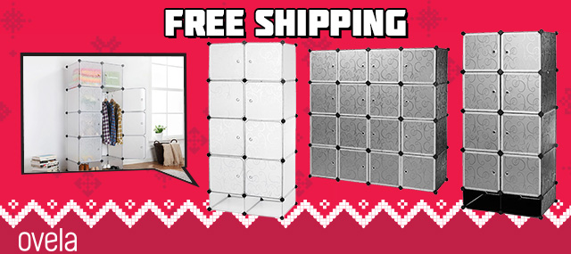 Ovela Cube Modular Storage Solutions from $49 (Was $69)