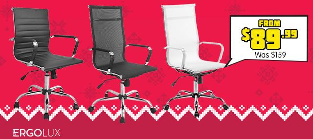 Ergolux Eames Replica Office Chairs