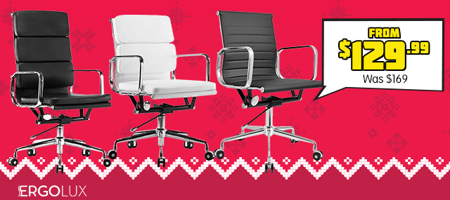 Ergolux Eames Replica Office Chairs - Executive Collection