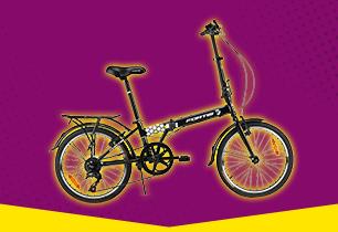 Fortis Urban Traveller 20 Inch Folding Bike