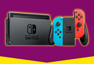 Nintendo Switch Console (2019) - Neon