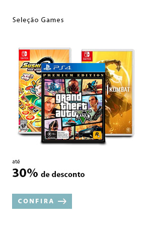 PRODUTO 10 - Seleção Games até 30% OFF