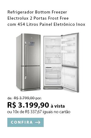 PRODUTO 5 - Refrigerador Bottom Freezer Electrolux