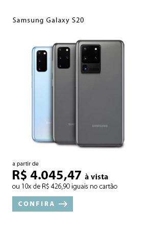 PRODUTO EX2 -  Samsung Galaxy S20