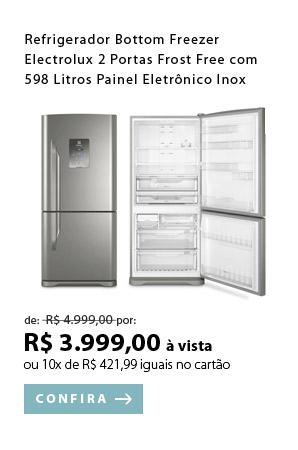 PRODUTO 3 - Refrigerador Bottom Freezer Electrolux