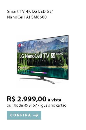 PRODUTO EX2 - Smart TV 4K LG LED 55