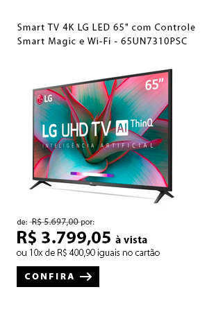 PRODUTO 1 - Smart TV 4K LG LED 65