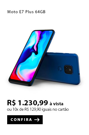 PRODUTO 4 -  Moto E7 Plus 64GB