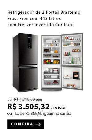 PRODUTO EX1 - Refrigerador de 02 Portas Brastemp