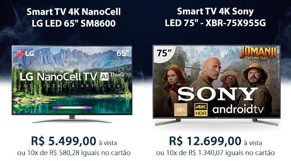 Smart TV 4K NanoCell LG LED 65