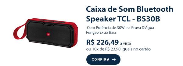 Caixa de Som Bluetooth Speaker TCL