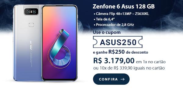 Zenfone 6 Silver Asus 128 GB