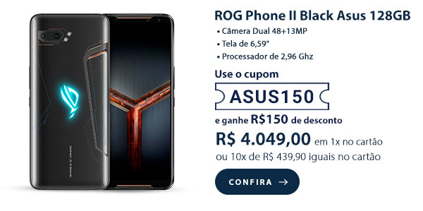 ROG Phone II Black Asus 128GB