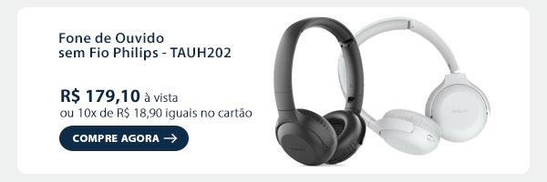Fone de Ouvido sem Fio Philips - TAUH202
