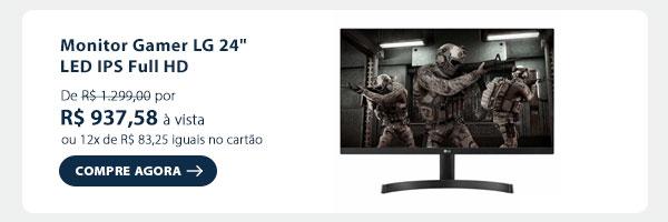 Monitor Gamer LG 24 LED IPS Full HD