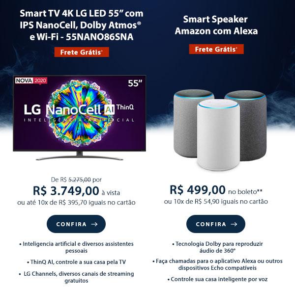 Smart TV 4K LG LED 55