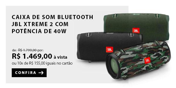 BANNER 2 - Caixa de Som Bluetooth JBL Xtreme 2 com Potência de 40W