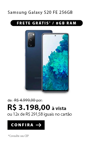 PRODUTO 4 - Samsung Galaxy S20 FE 256GB