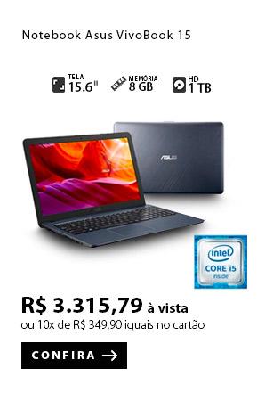 PRODUTO 5 - Notebook Asus VivoBook 15