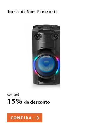 PRODUTO 12 - Torres de Som Panasonic