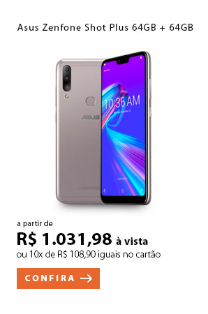 PRODUTO 3 - Asus Zenfone Shot Plus 64GB + 64GB