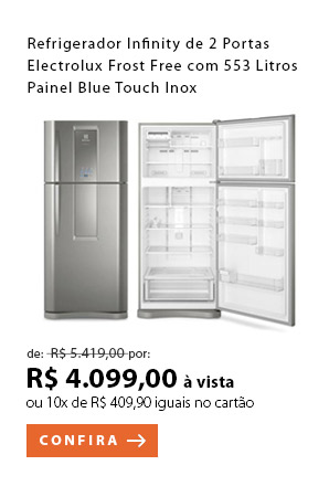 PRODUTO 8 - Refrigerador Infinity de 02 Portas Electrolux