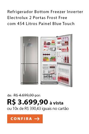 PRODUTO 1 - Refrigerador Bottom Freezer Inverter Electrolux