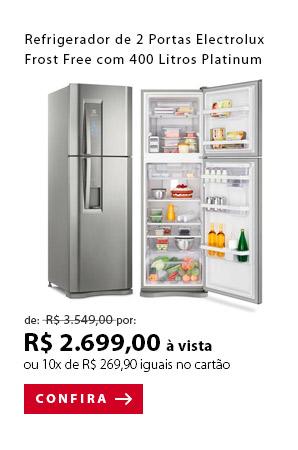 PRODUTO 6 - Refrigerador de 02 Portas Electrolux