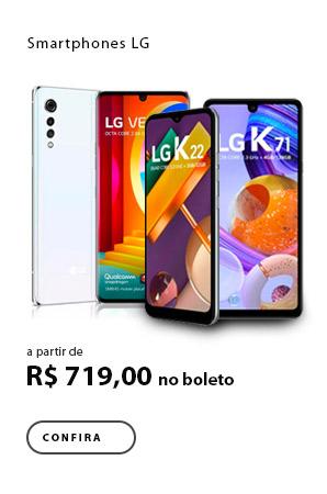 PRODUTO EX1 - Smartphones LG