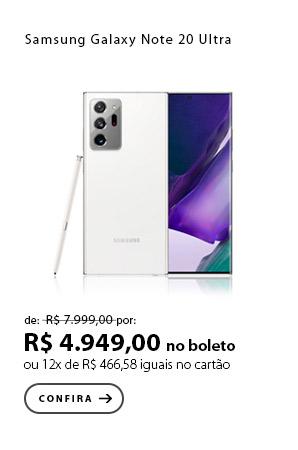PRODUTO 1 - Samsung Galaxy Note 20 Ultra