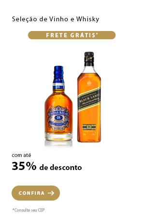 PRODUTO 12 - Seleção de Vinho e Whisky