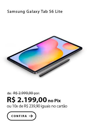 PRODUTO 4 - Samsung Galaxy Tab S6 Lite