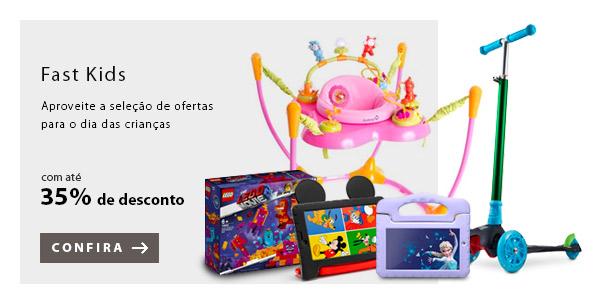 BANNER 8 - Fast Kids - Aproveite a seleção de ofertas para o dia das crianças