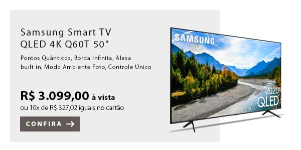 """BANNER 3 - Samsung Smart TV QLED 4K Q60T 50"""""""