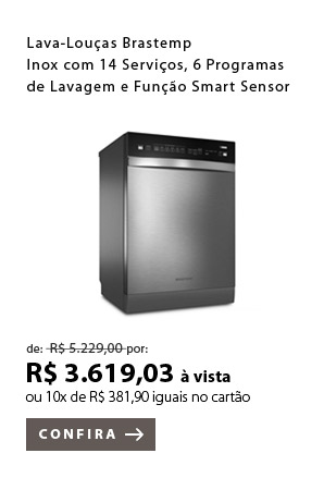 PRODUTO EX2 - Lava-Louças Brastemp