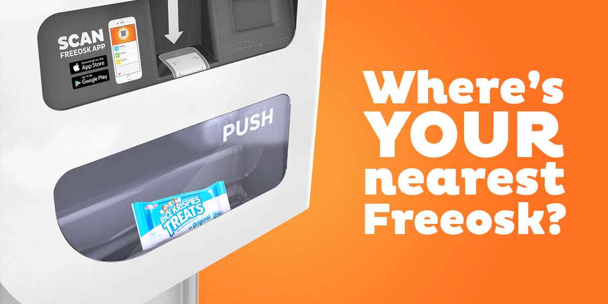 Where's your nearest Freeosk?
