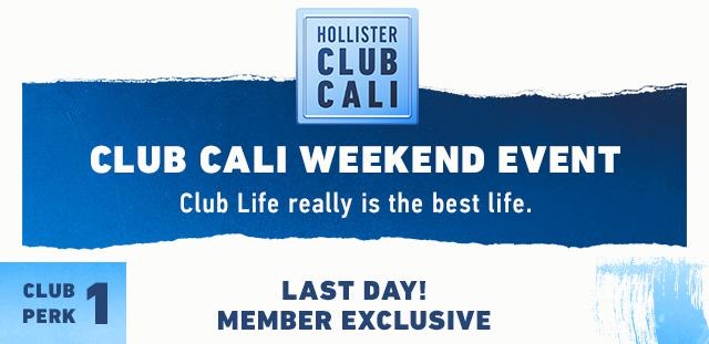 hollister club cali