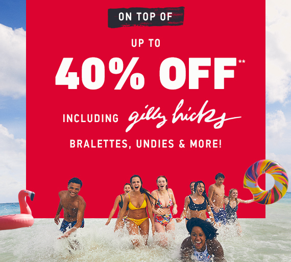 HOLLISTER SALE: UP TO 40% OFF