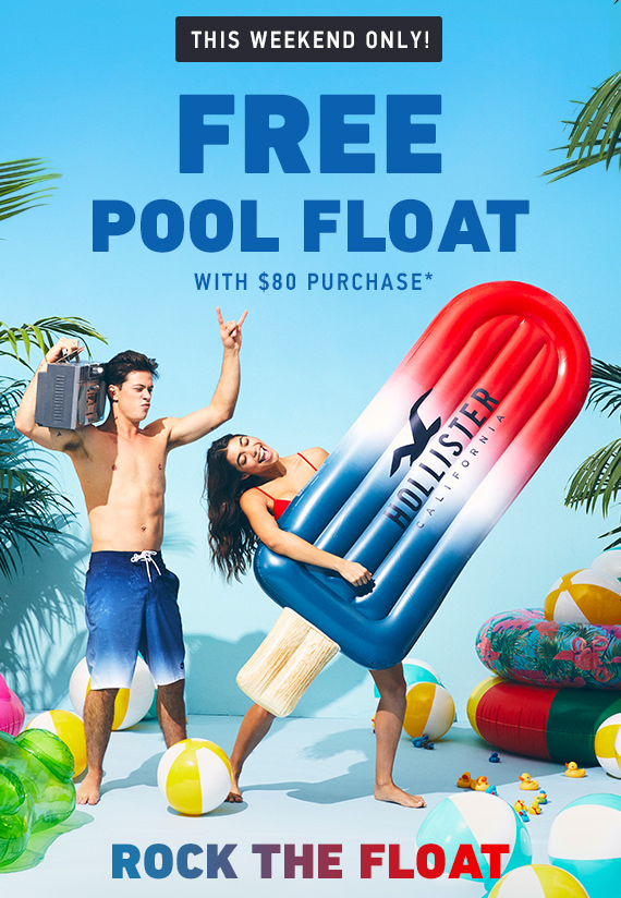 Free Pool Float with $80 Purchase*