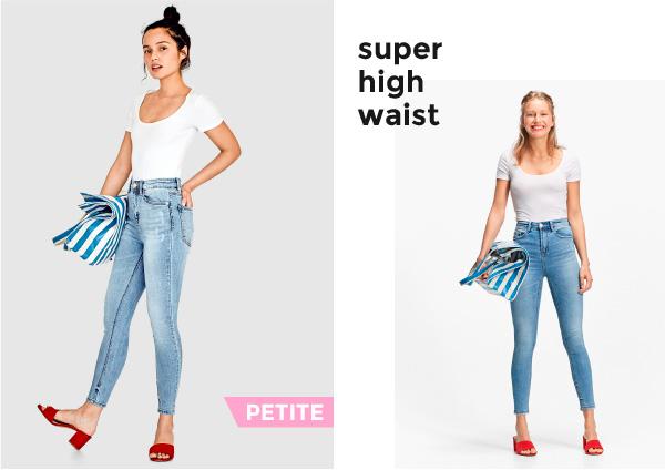 Super high waist