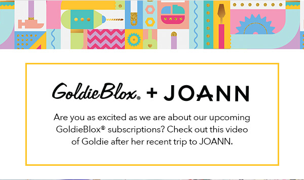 GoldieBlox subscriptions are coming to offer STEM for girls