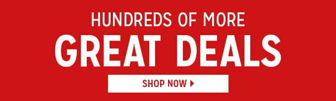 HUNDREDS OF MORE GREAT DEALS | SHOP NOW