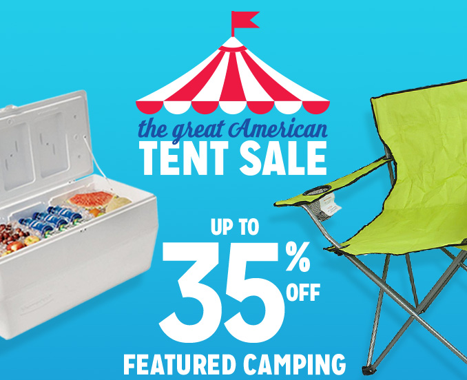 Kmart - The Great American Tent Sale: NOW WITH MORE TENTS! ⛺ ⛺ ⛺