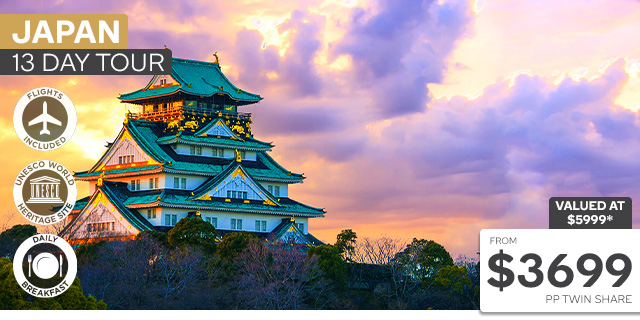 13 Day Japan Tour with Flights
