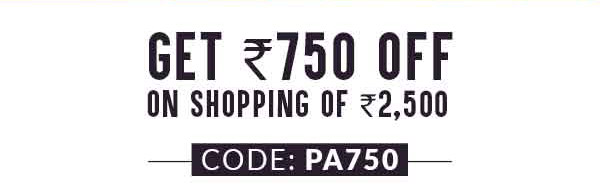 GET ₹750 OFF ON SHOPPING OF ₹2,500
