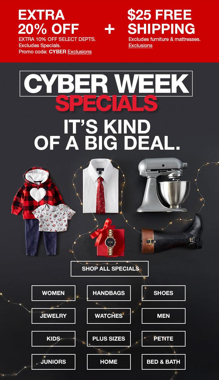 Macy S Psst Our Cyber Week Specials Are Still Here Go