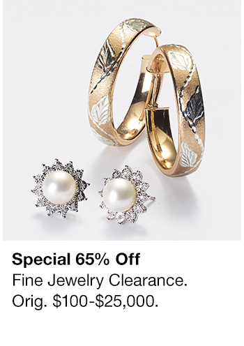 Special 65% Off, Fine Jewelry Clearance