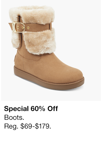 Special 60% Off, Boots