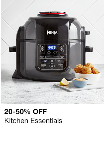 20-50 percent off, Kitchen Essentials